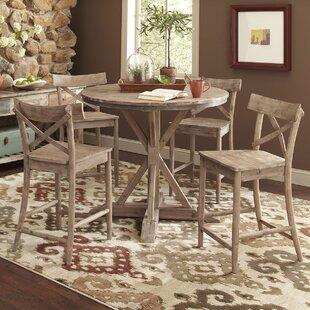 Dupre Pub Table Set & French Bistro Table And Chairs | Wayfair