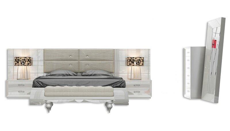 Everly Quinn Knorr Standard 5 Piece Bedroom Set Wayfair Ca