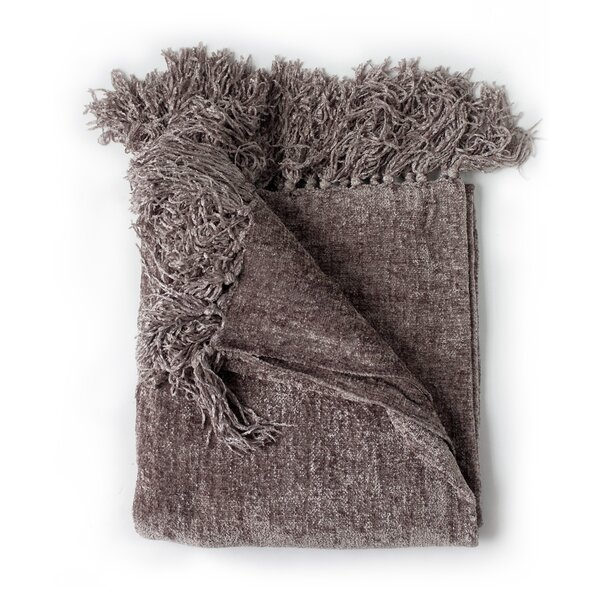 Blankets Throws You'll Love Wayfair Awesome Black Chenille Throw Blanket