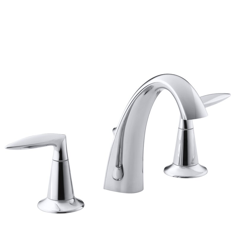 Bathroom Sinks Faucets kohler alteo widespread bathroom sink faucet & reviews | wayfair