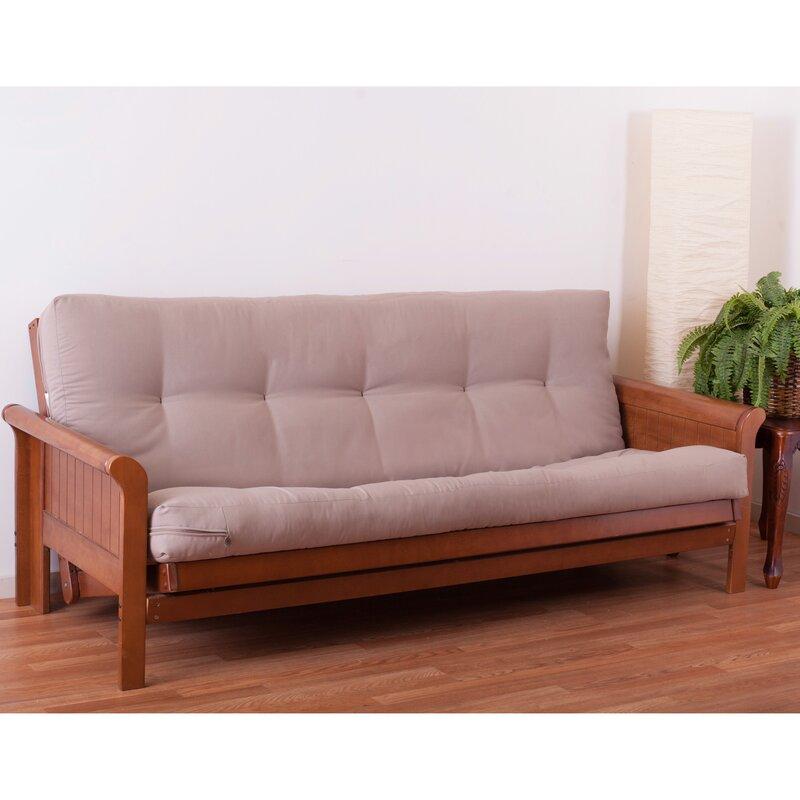 vitality 6   full size solid futon mattress alwyn home vitality 6   full size solid futon mattress  u0026 reviews      rh   wayfair