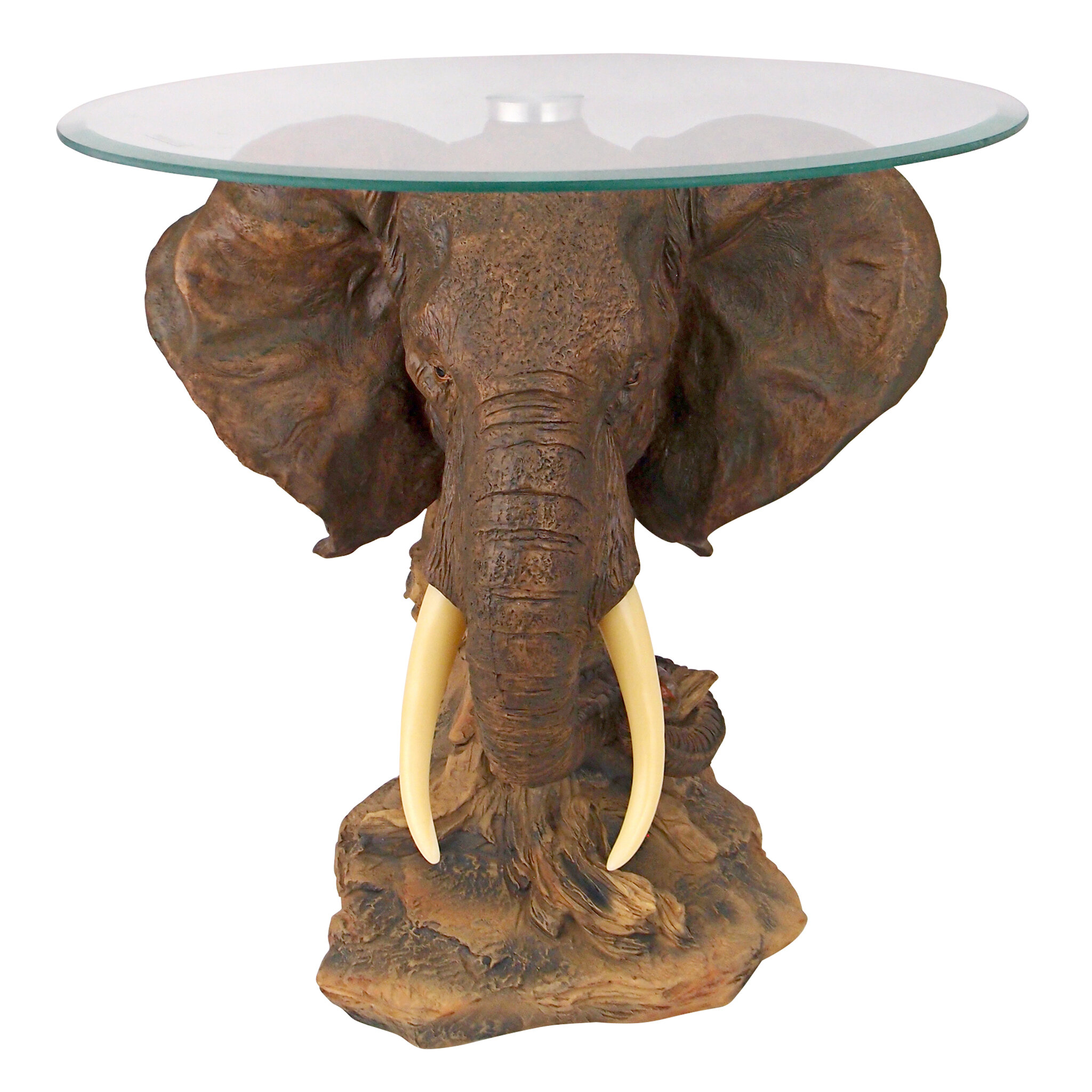 Design Toscano Lord Earl Houghton s Trophy Elephant Coffee Table