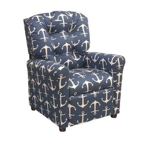 Sailor Kids Recliner  sc 1 st  Wayfair : kid recliner with cup holder - islam-shia.org