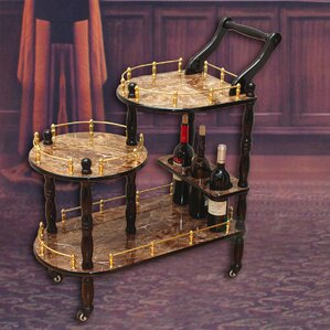 Fields 3-Tier Bar Cart by Astoria Grand