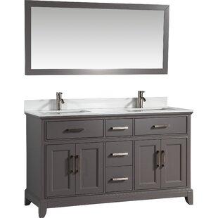 60 vanity double sink. Save To Idea Board  Vanity Art Double Vanities You Ll Love Wayfair