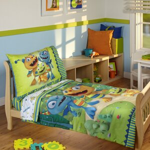 Henry Hugglemonster 4 Piece Toddler Bedding Set