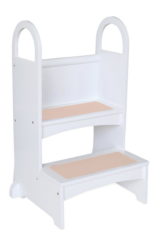 Bed Step Stool: Guidecraft High Rise Step Stool & Reviews