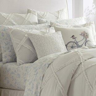 Adelina Ruffle Cotton Duvet Set By Laura Ashley Home