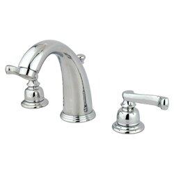 Bathroom Faucet Widespread kingston brass royale double handle widespread bathroom faucet
