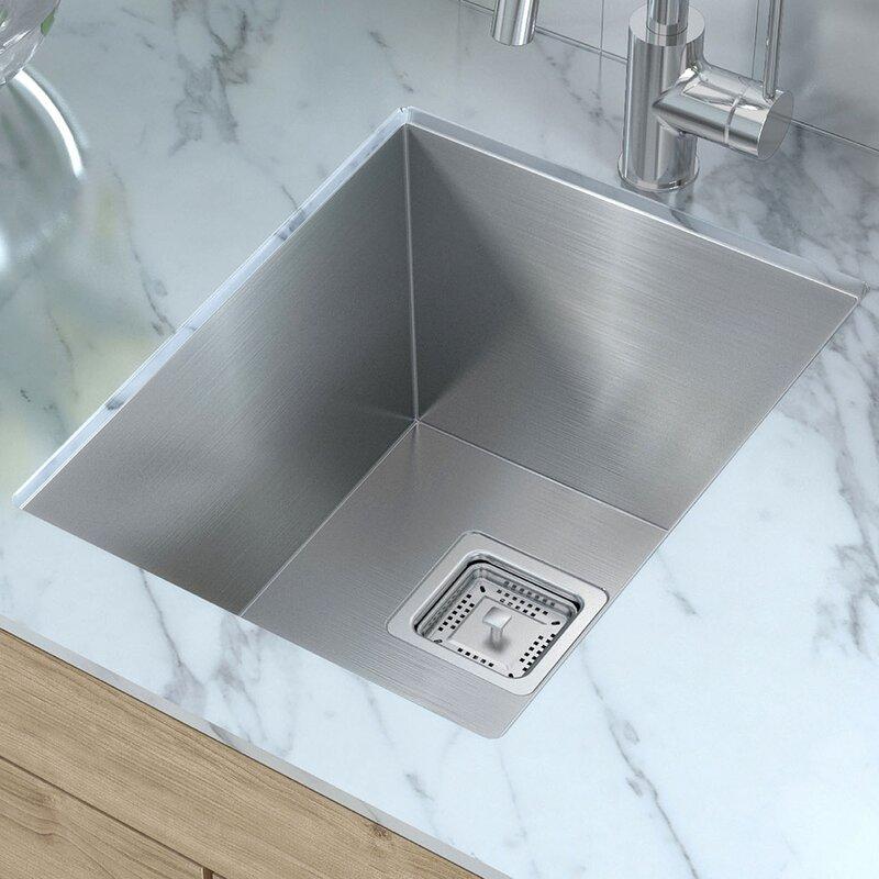 Kraus pax 145 x 185 undermount kitchen sink reviews wayfair pax 145 x 185 undermount kitchen sink workwithnaturefo