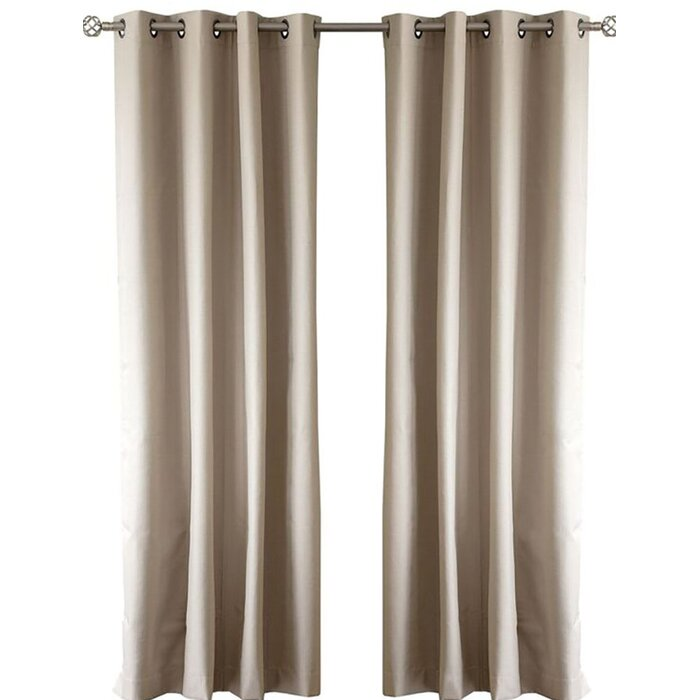 Cabo Solid Blackout Grommet Curtain Panels