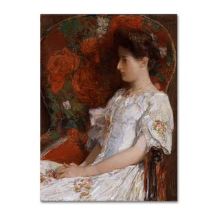 U0027The Victorian Chairu0027 Print On Wrapped Canvas