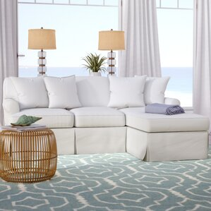 coral gables reversible sleeper sectional