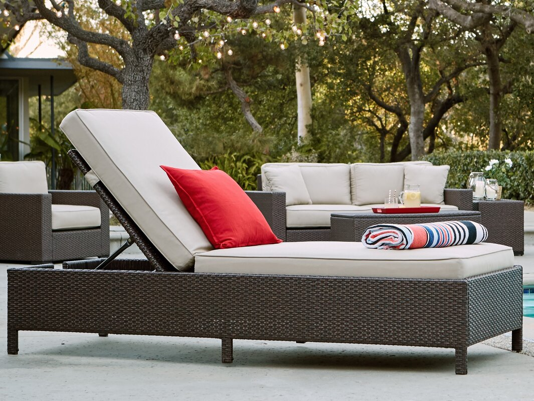 Laguna Outdoor Storage Chaise Lounge : storage chaise lounge - Sectionals, Sofas & Couches