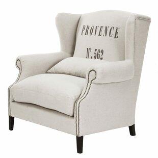 Napoleon Wingback Chair