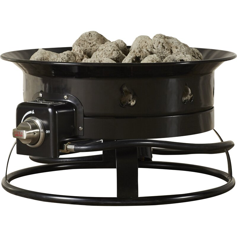 Beau Heininger Portable Propane Outdoor Fire Pit