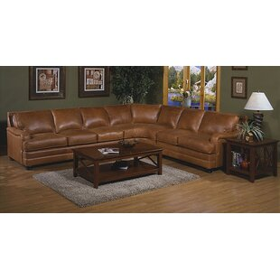 Pantera Leather Reversible Sectional