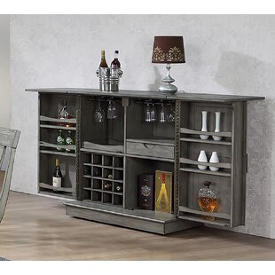 Vergara Expandable Bar Cabinet Today Only Sale