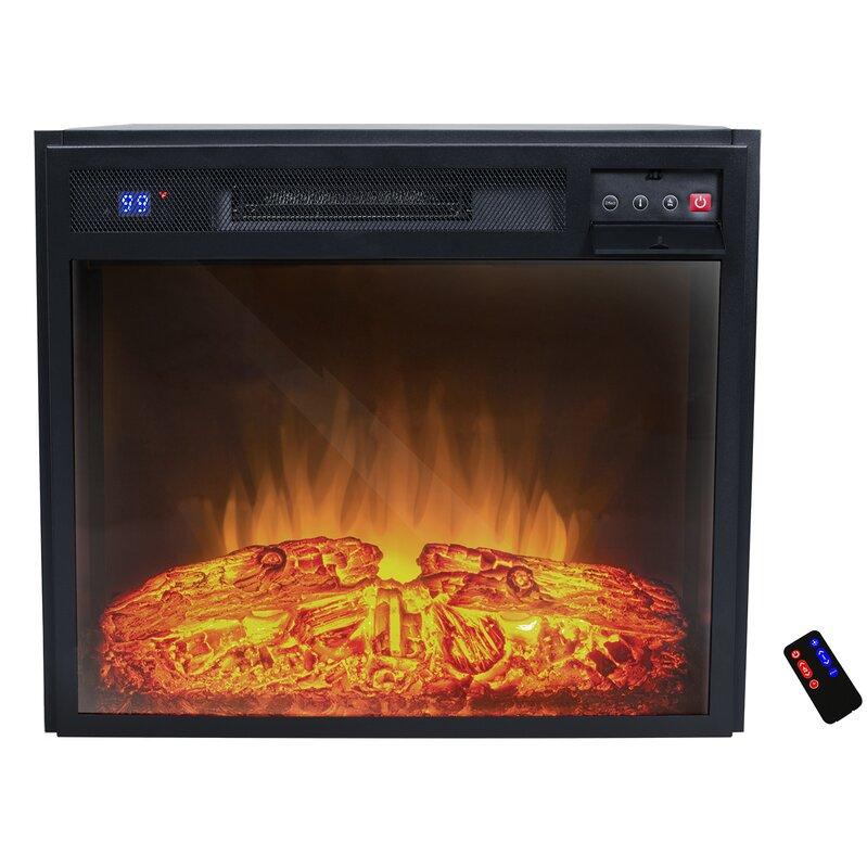 Electric Fireplace small electric fireplace insert : AKDY Wall Mount Electric Fireplace Insert & Reviews | Wayfair