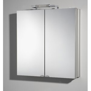65 cm x 72,5 cm Spiegelschrank Bel with Lightin..