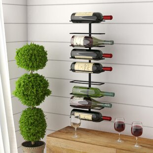 Cass 9 Bottle Wall Mounted Wine Rack
