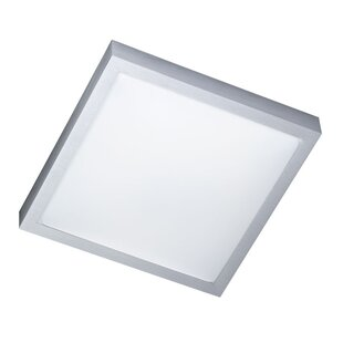 mila 1 light flush ceiling light - Bathroom Ceiling Lights