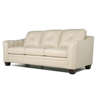 Italian Top Grain Leather Sofa | Wayfair