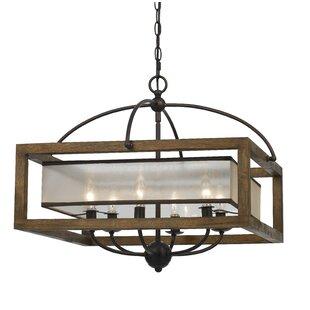 Modern metal chandeliers allmodern bundoran 6 light candle style chandelier aloadofball Gallery
