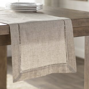 Attractive Kitt Hemstitched Table Runner