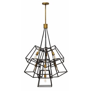 Fulton 7-Light Geometric Pendant