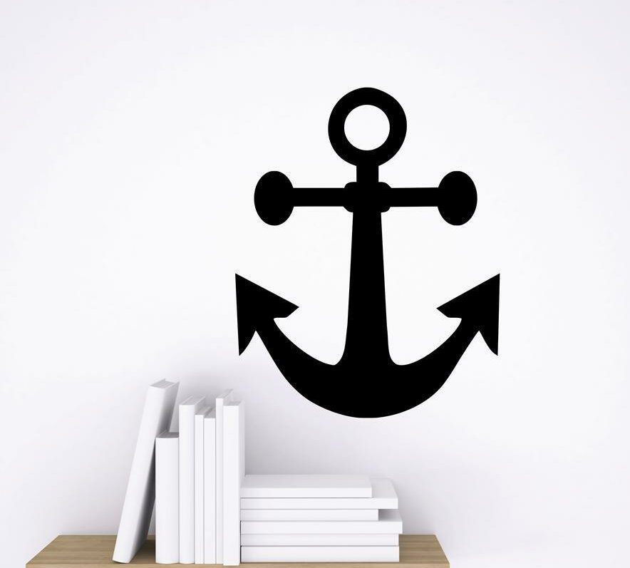 design with vinyl anchor ship boat yacht wall decal   wayfair