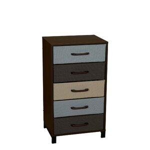 Langevine Storage Stand 5 Drawer Accent Chest