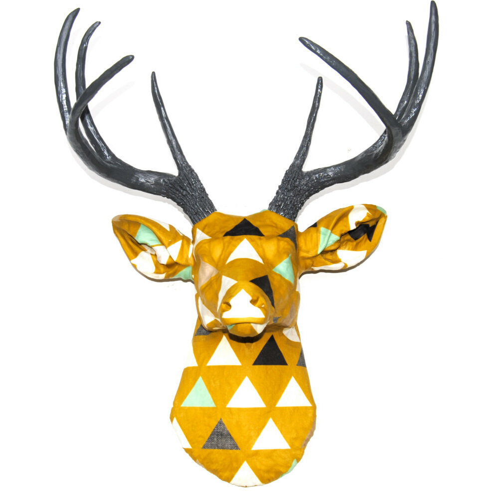 Beautiful Decorative Deer Head Wall Decor Composition - The Wall Art ...
