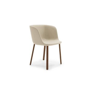 Esse Genuine Leather Upholstered Dining Chair