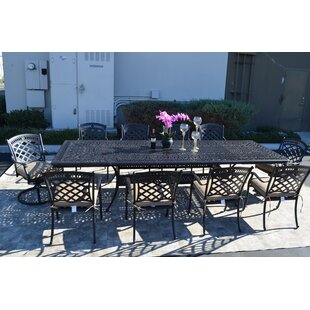 Superbe Wildermuth 11 Piece Dining Set With Cushions