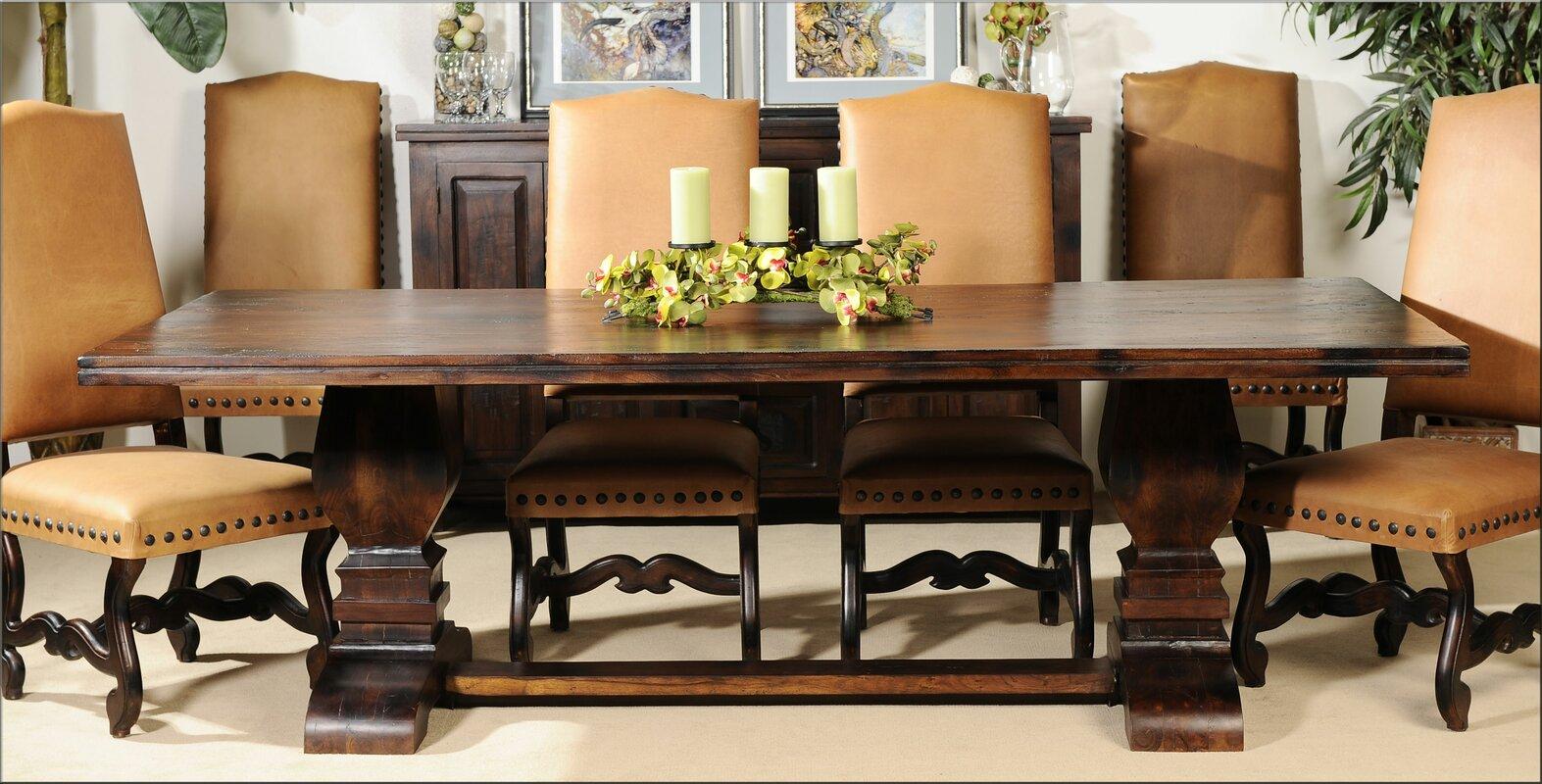 aishni home furnishings grand castle dining table wayfair default name