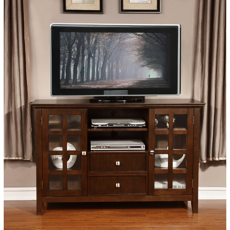 Simpli Home Acadian Tv Stand For Tvs Up To 60 Reviews Wayfair