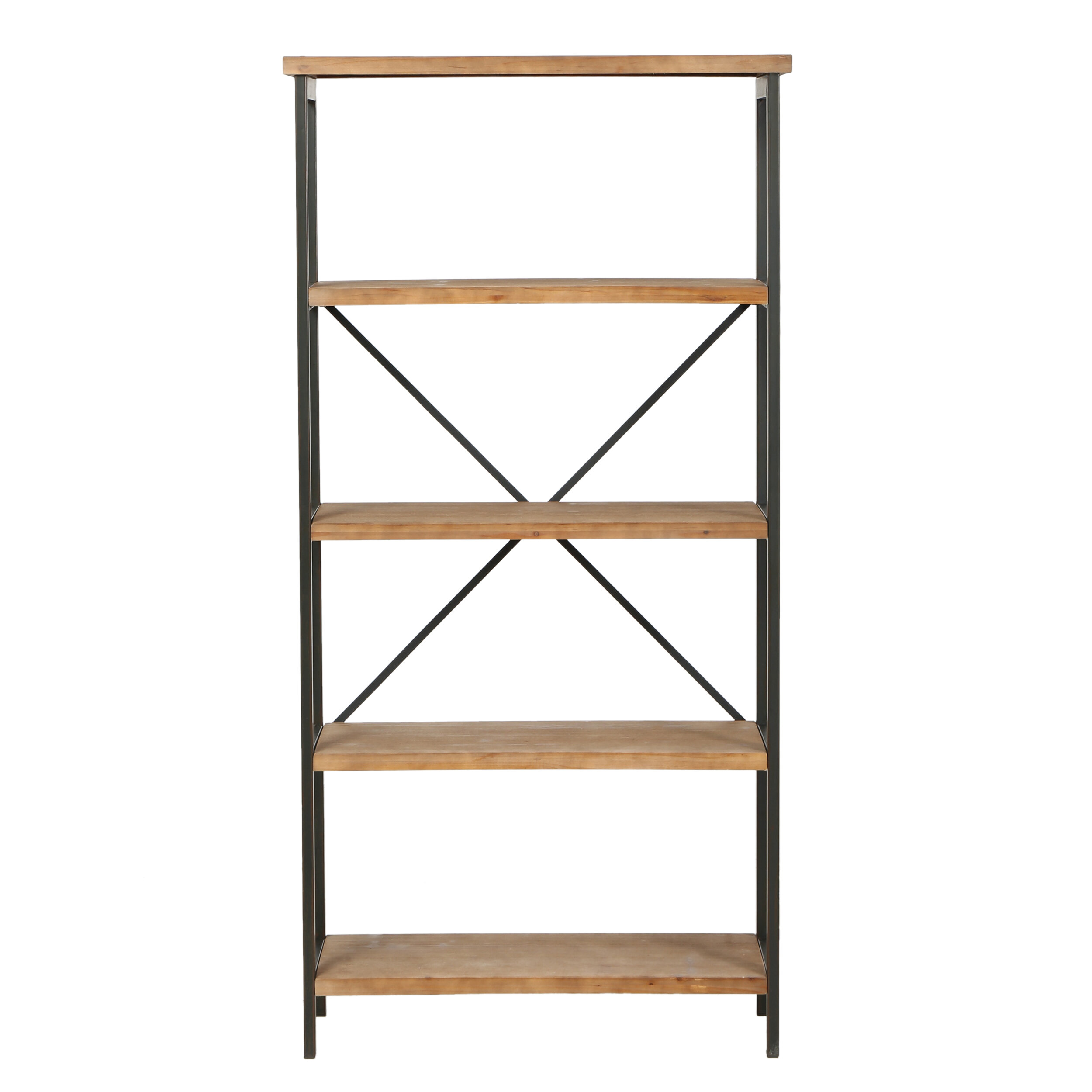 four metal appeal pin industrial wood in edge bookish meets bookcases broad distressed with our bookcase and