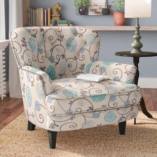 Aliso Floral Armchair & Floral Chair | Wayfair.co.uk