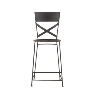 Napier Hammered Iron Bar Stool (Set of 2)