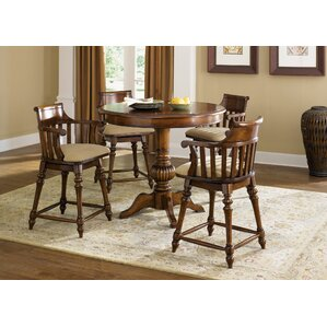Albrightsville Pub Table Set by Fleur De Lis Living