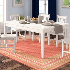 Silver Springs Dining Table by Beachcrest Home