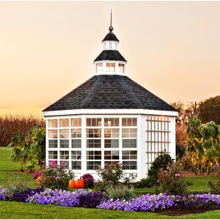 Colonial 12 Ft. W X 12 Ft. D Garden Shed Greenhouse