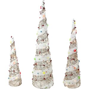 christmas tree outdoor christmas decorations youll love wayfair - Wire Christmas Tree