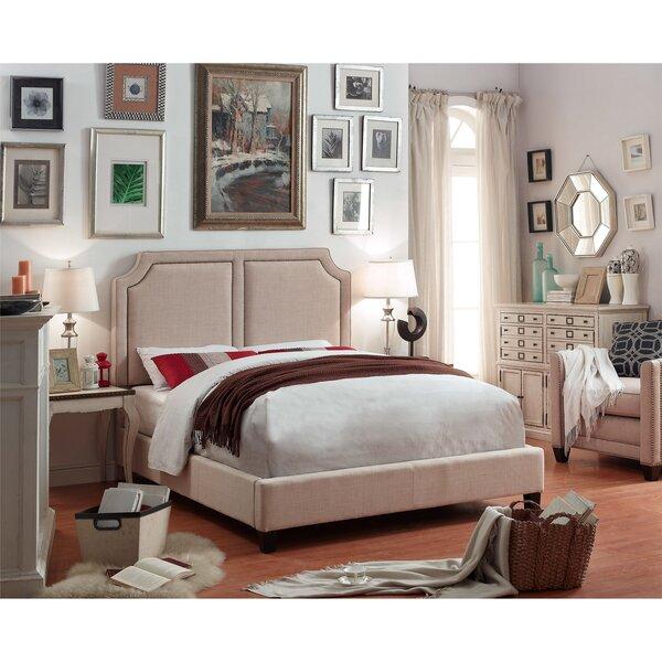 Mulhouse Furniture Sanibel Queen Upholstered Panel Bed U0026 Reviews   Wayfair