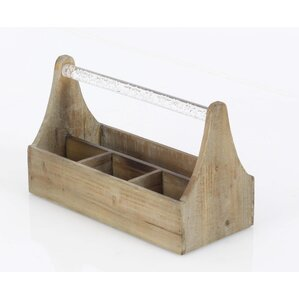 Jessie Wood Tabletop Wine Bottle Rack by Ebern Designs