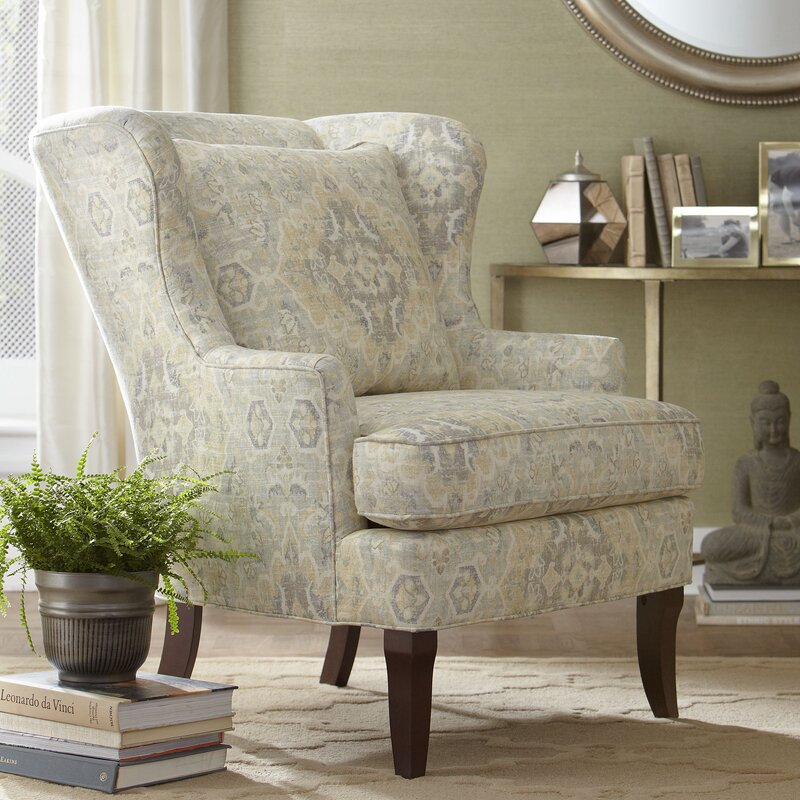 Birch Lane Lavelle Wingback Chair Amp Reviews Wayfair