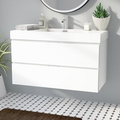 Floating Amp Wall Mounted Bathroom Vanities You Ll Love