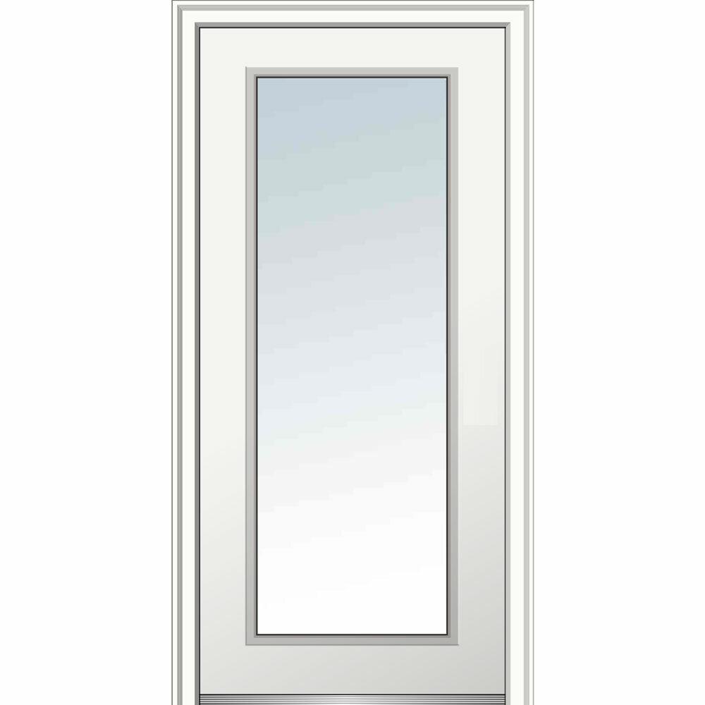 Superieur Verona Home Design Full Lite Primed Prehung Front Entry Door | Wayfair