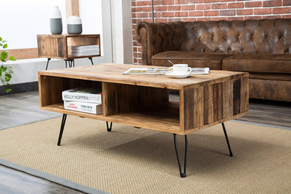 Wayfair Living Room Tables: Union Rustic Colvin Coffee Table & Reviews